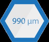 Standard measuring range
