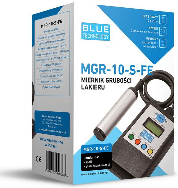Miernik grubości lakieru MGR-10-S-FE