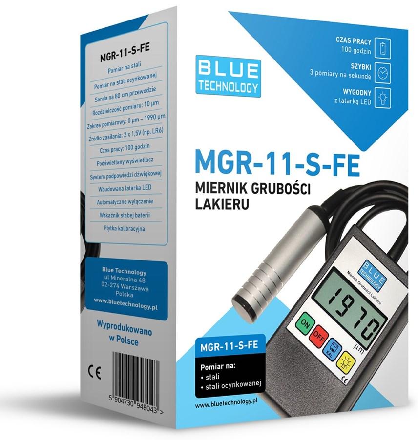 Miernik grubości lakieru MGR-11-S-FE