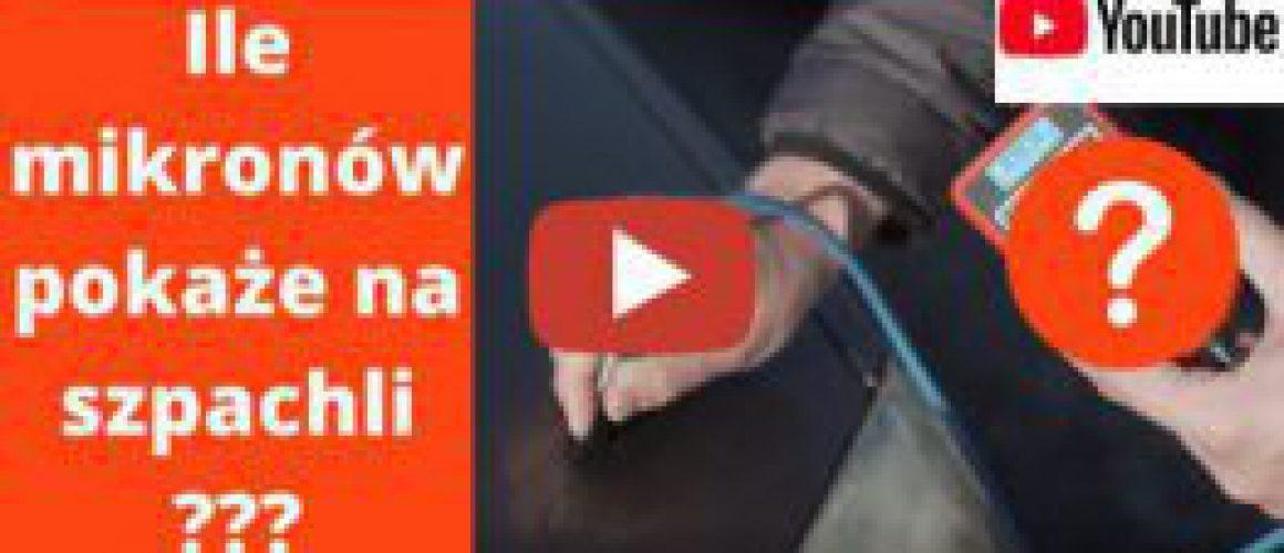 Mierniki grubości lakieru Nietypowy Handlarz You Tube